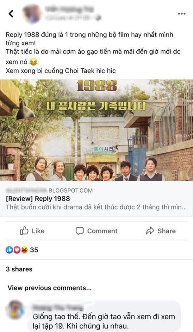 Netizen Việt bồi hồi nhớ nhung Reply 1988 sau 4 năm gây bão Hàn Quốc, leo thẳng top 3 Netflix giữa mùa ở nhà cày phim - Ảnh 6.