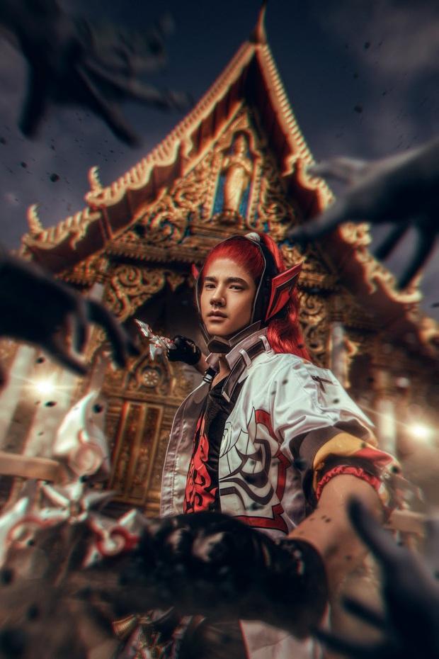 Tài tử Thái Lan Mario Maurer bất ngờ hóa thân thành chàng xạ thủ Hayate Liên Quân khiến fangirl dậy sóng! - Ảnh 4.