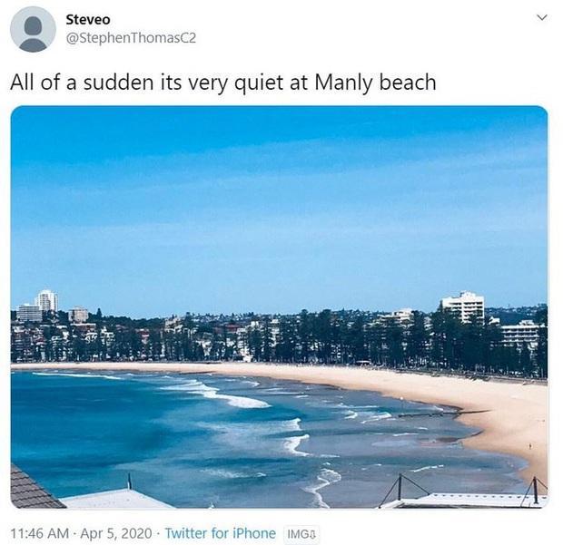 Hàng ngàn người tại điểm nóng Covid-19 ở Úc lại ra bãi biển vui chơi - Ảnh 10.
