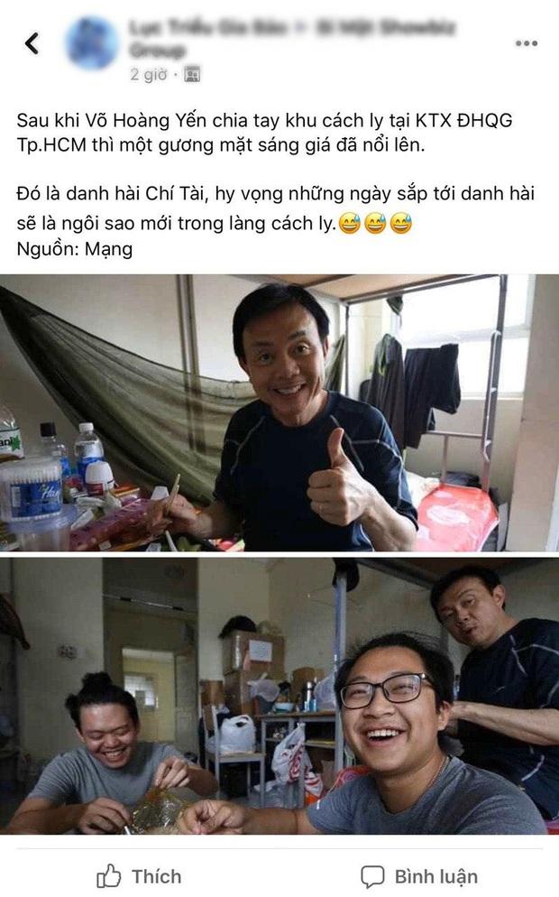 Danh hài Chí Tài cách ly tập trung 14 ngày tại KTX Đại học Quốc gia, gây xôn xao với diện mạo gầy đáng lo - Ảnh 2.