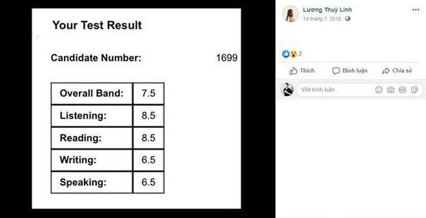 Hoa hậu IELTS 7.5 Lương Thùy Linh gây ngỡ ngàng vì tung bảng điểm toàn F, điểm chuyên cần bằng 0, sự thật là gì? - Ảnh 4.