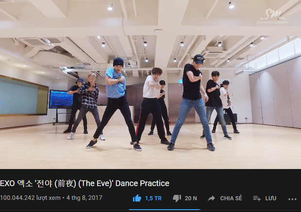 Sau BTS và BIGBANG, EXO là nhóm tiếp theo có clip vũ đạo trên 100 triệu lượt xem nhưng không phải ca khúc chủ đề mà nhờ bài nhảy quyến rũ nghẹt thở - Ảnh 1.