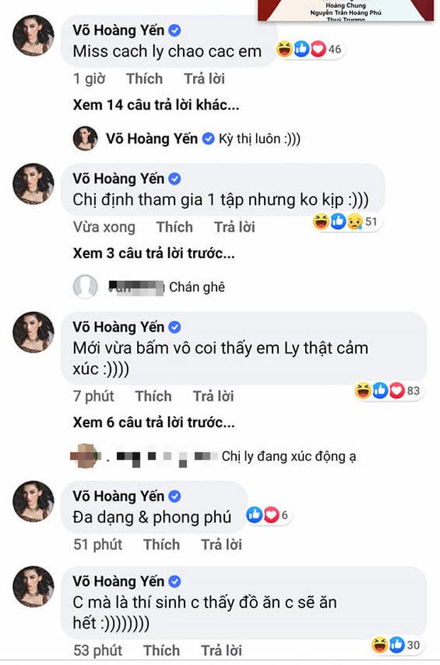 Rời khỏi khu cách ly, Võ Hoàng Yến khiến fan chết cười khi liên tục vào hóng drama Model Kid - Ảnh 4.