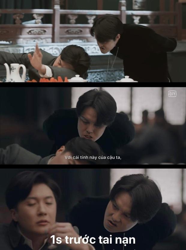 Cười rụng nụ cảnh Huỳnh Hiểu Minh bị bạn trai cắn yêu không trượt phát nào ở Bên Tóc Mai Không Phải Hải Đường Hồng - Ảnh 3.