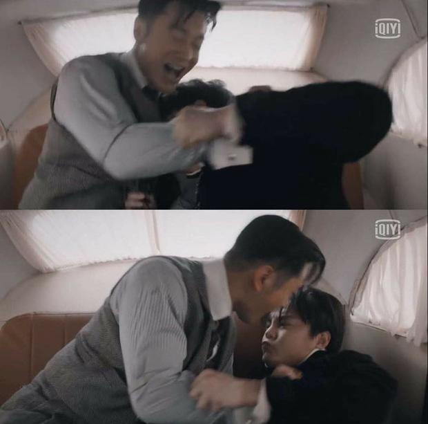 Cười rụng nụ cảnh Huỳnh Hiểu Minh bị bạn trai cắn yêu không trượt phát nào ở Bên Tóc Mai Không Phải Hải Đường Hồng - Ảnh 4.