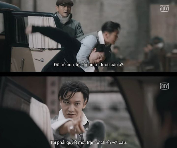 Cười rụng nụ cảnh Huỳnh Hiểu Minh bị bạn trai cắn yêu không trượt phát nào ở Bên Tóc Mai Không Phải Hải Đường Hồng - Ảnh 5.