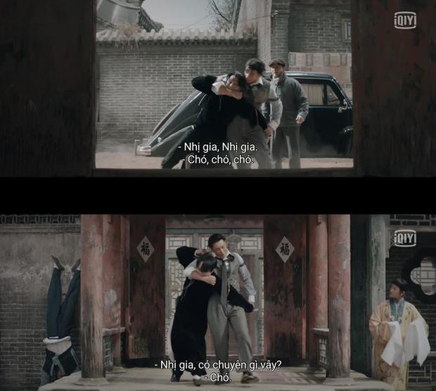 Cười rụng nụ cảnh Huỳnh Hiểu Minh bị bạn trai cắn yêu không trượt phát nào ở Bên Tóc Mai Không Phải Hải Đường Hồng - Ảnh 6.