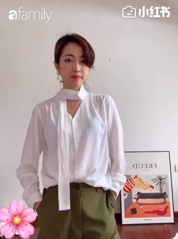6 cách diện áo blouse thắt nơ giúp nàng công sở khỏi lo ngày mai mặc gì - Ảnh 6.