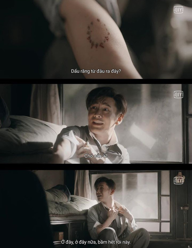 Cười rụng nụ cảnh Huỳnh Hiểu Minh bị bạn trai cắn yêu không trượt phát nào ở Bên Tóc Mai Không Phải Hải Đường Hồng - Ảnh 7.