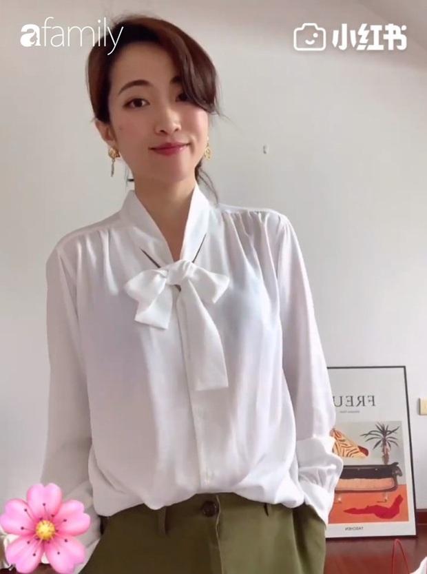 6 cách diện áo blouse thắt nơ giúp nàng công sở khỏi lo ngày mai mặc gì - Ảnh 7.