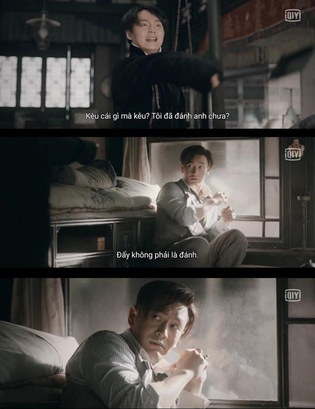 Cười rụng nụ cảnh Huỳnh Hiểu Minh bị bạn trai cắn yêu không trượt phát nào ở Bên Tóc Mai Không Phải Hải Đường Hồng - Ảnh 8.
