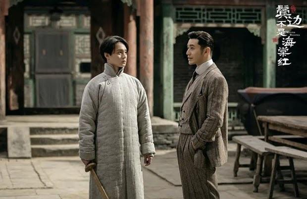 Cười rụng nụ cảnh Huỳnh Hiểu Minh bị bạn trai cắn yêu không trượt phát nào ở Bên Tóc Mai Không Phải Hải Đường Hồng - Ảnh 9.