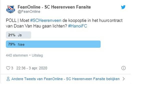 Cổ động viên Heerenveen không muốn Văn Hậu ở lại: Hà Lan không dành cho Ngạn, cũng tạm thời chưa thể dành cho Hậu. - Ảnh 3.