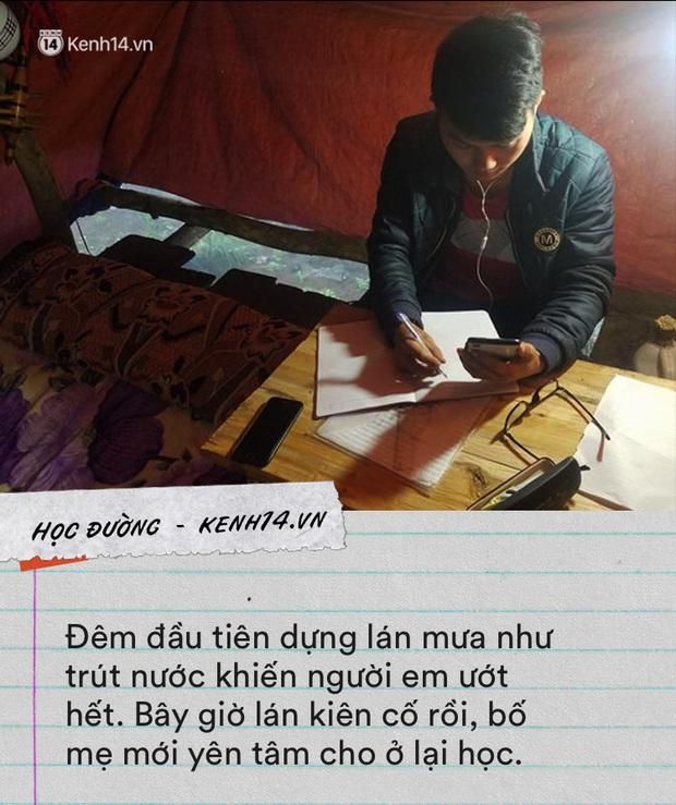 Nam sinh người Mông dựng lán giữa núi bắt internet học online: Bị ép lấy vợ nhưng quyết vào đại học vì không có tiền thì lấy gì nuôi vợ con - Ảnh 2.
