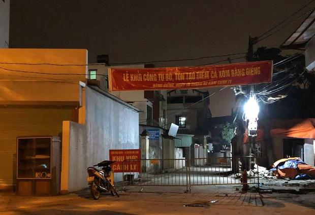 Ảnh: Cận cảnh chốt kiểm soát, phong tỏa thôn Hạ Lôi nơi bệnh nhân 243 sinh sống - Ảnh 5.