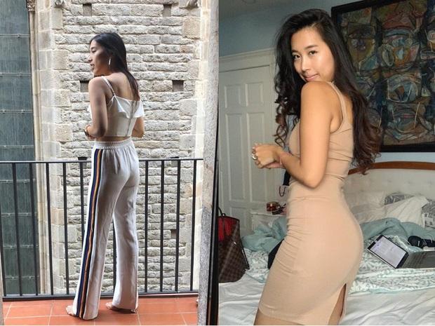 Bạn gái cũ Huỳnh Anh khoe ảnh trước và sau khi nghiêm túc tập tành: Không giảm được cân nào nhưng body thì nuột hơn hẳn - Ảnh 1.