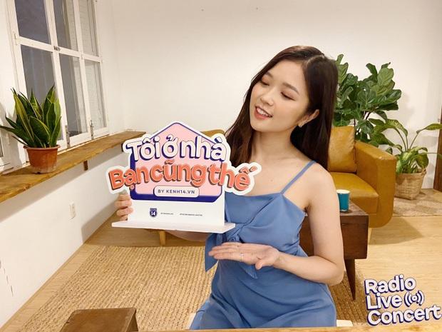 Suni Hạ Linh hát loạt hit tiện cover Sao Anh Chưa Về Nhà phiên bản đẩy lùi Corona, cân luôn Mascara của Chillies khoe giọng live cao vút - Ảnh 3.