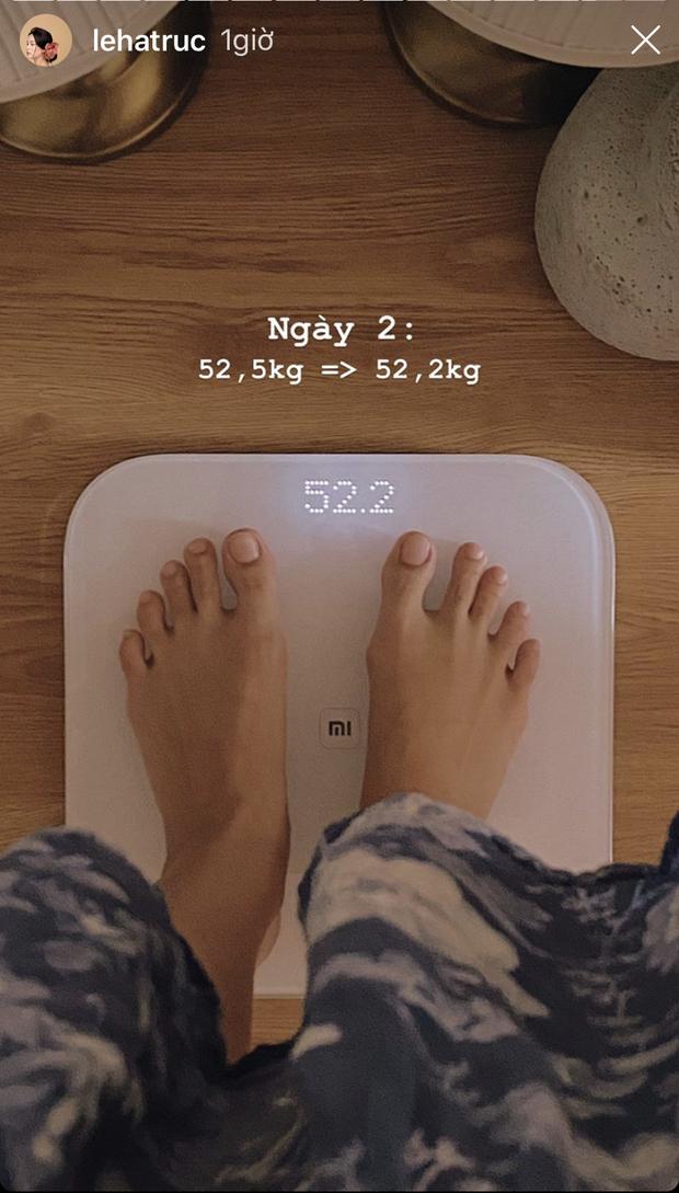 Tranh thủ như Hà Trúc khi ở nhà: mới lên kế hoạch giảm cân mà sau 3 ngày đã xuống được 1 ký - Ảnh 9.