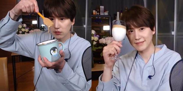 """Thấy loại cafe """"đánh 400 lần"""" làm quá dễ, nam idol Super Junior buông một câu triết lý xanh rờn khiến fan muốn """"rớt nước mắt"""" - Ảnh 2."""