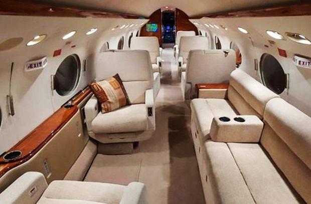 Ghé thăm chuyên cơ sang trọng 15 triệu USD của Messi: Một chi tiết trên chiếc máy bay là độc nhất vô nhị - Ảnh 4.