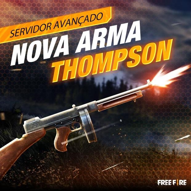 Free Fire: Chi tiết về Thomson - ông vua mới của dòng súng tiểu liên (SMG) sẽ có mặt trong bản cập nhật OB21 - Ảnh 3.