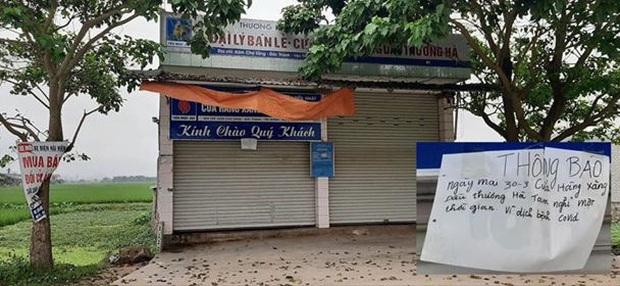 Tự ý đóng cửa, cửa hàng xăng dầu ở Nghệ An bị phạt 30 triệu đồng - Ảnh 1.