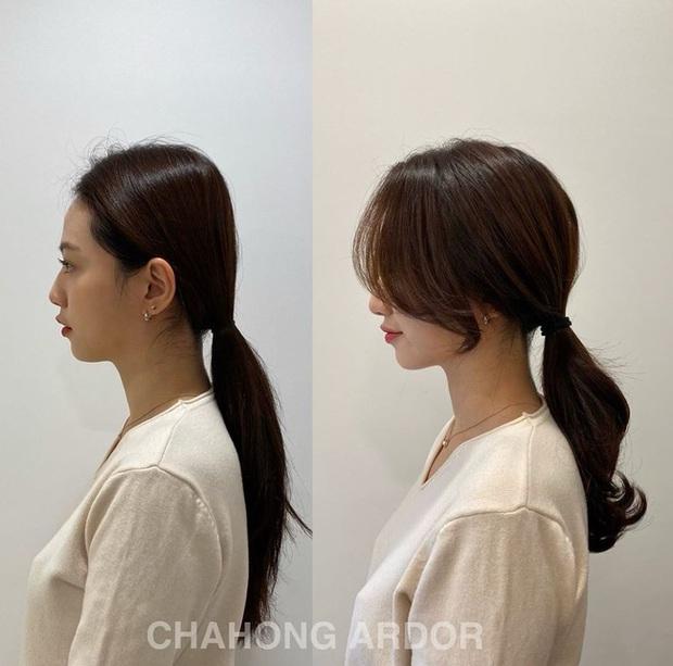 Ra là nhờ một thủ thuật, gái Hàn để kiểu tóc buộc thấp, búi thấp mới sang chảnh và cuốn hút đến vậy - Ảnh 11.