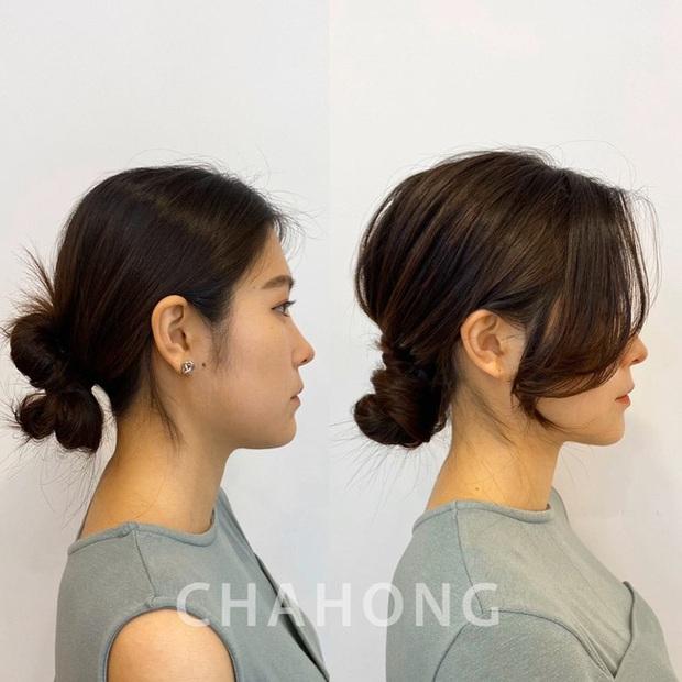 Ra là nhờ một thủ thuật, gái Hàn để kiểu tóc buộc thấp, búi thấp mới sang chảnh và cuốn hút đến vậy - Ảnh 10.