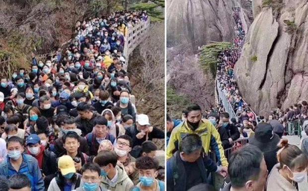 Giới chuyên gia cảnh báo rủi ro lớn khi người dân Trung Quốc tụ tập quá đông đúc - Ảnh 1.