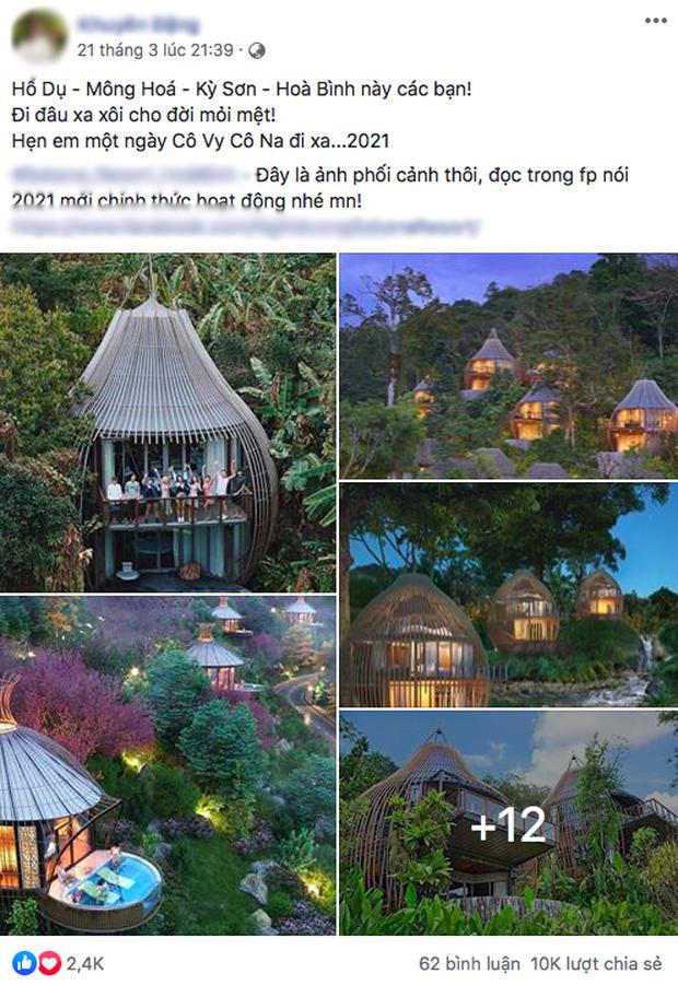 Khu du lịch mới toanh ở Việt Nam đang thu hút chục nghìn share vì kiến trúc hình tổ chim độc đáo, nhưng thực hư là như thế nào? - Ảnh 3.