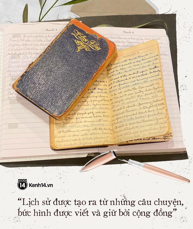 Chuyện kể đằng sau những cuốn nhật ký cách ly: Trang lịch sử để thế giới soi chiếu mãi về sau - Ảnh 13.