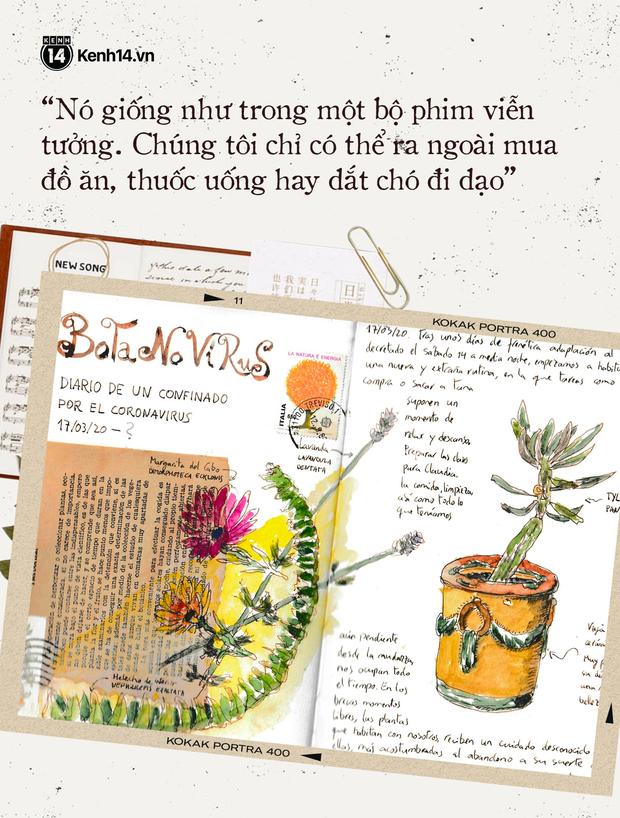 Chuyện kể đằng sau những cuốn nhật ký cách ly: Trang lịch sử để thế giới soi chiếu mãi về sau - Ảnh 10.