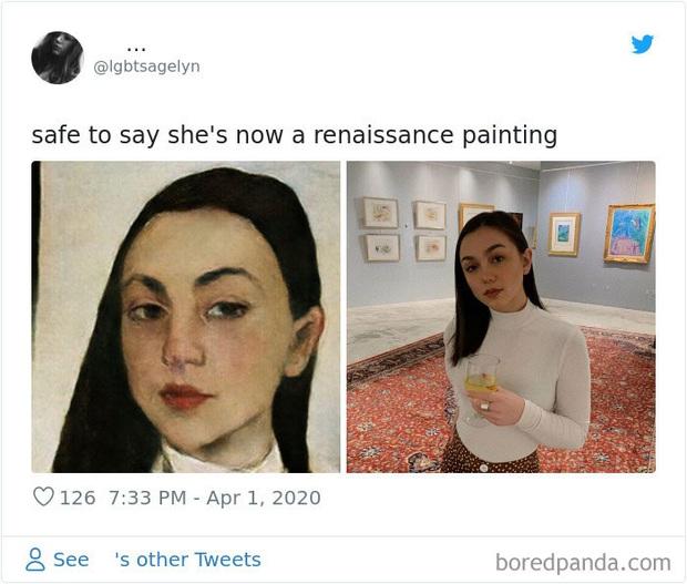 Giải trí mùa dịch: App chỉnh ảnh tự biến mình thành tranh vẽ Phục Hưng, kẻ khóc người cười không để đâu cho hết - Ảnh 2.