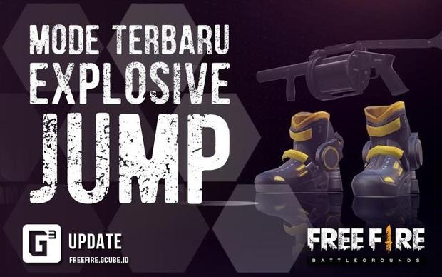 Free Fire: Bản cập nhật mới đã mang chế độ yêu thích nhất - Explosive Jump quay trở lại! - Ảnh 1.
