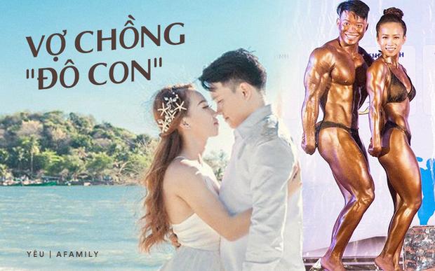 Chuyện tình thu hút 26 ngàn like của cặp vận động viên thể hình, ấn tượng nhất là loạt ảnh body biến hóa không thể tin nổi của cô vợ xinh đẹp - Ảnh 2.