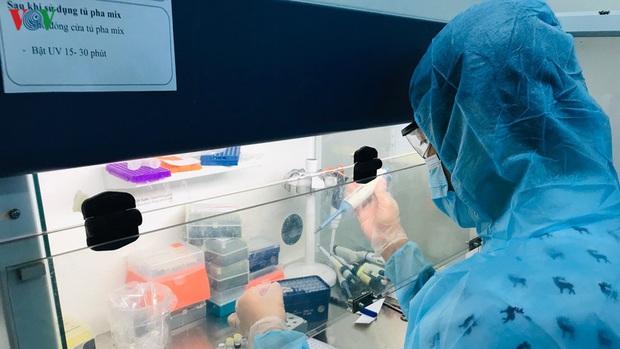 Ảnh: Bên trong khu xét nghiệm virus SARS-CoV-2 ở Viện Pasteur TP.HCM - Ảnh 14.