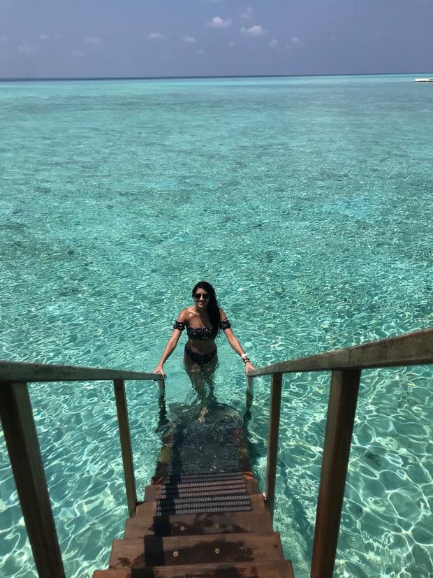 """Vẫn đi tuần trăng mật ở Maldives giữa mùa Covid-19, cặp đôi mới cưới bị mắc kẹt trên """"hòn đảo thiên đường chưa biết ngày về - Ảnh 3."""