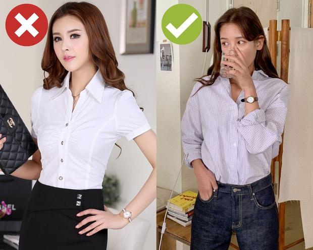 Còn chứa chấp 4 kiểu áo blouse sau thì bạn còn mặc xấu dài dài, nên tống khứ ngay cho đỡ chật tủ - Ảnh 4.