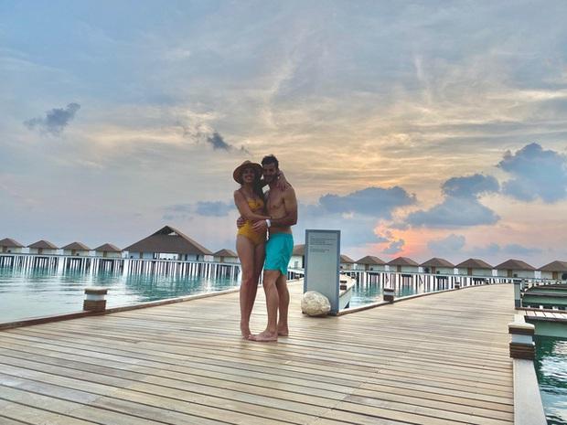 """Vẫn đi tuần trăng mật ở Maldives giữa mùa Covid-19, cặp đôi mới cưới bị mắc kẹt trên """"hòn đảo thiên đường chưa biết ngày về - Ảnh 5."""