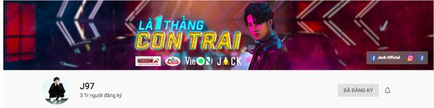 Jack chính thức trở thành nam ca sĩ Vpop đầu tiên có MV đạt 300 triệu view với Bạc Phận, rinh về 3 triệu subscribe chỉ sau thời gian ngắn - Ảnh 4.