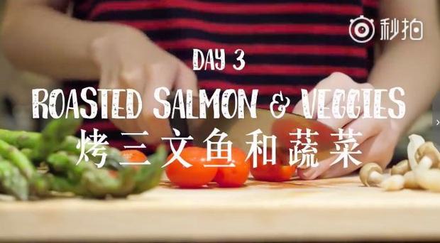 Nàng Vlogger xứ Trung chia sẻ thực đơn ăn tối cho cả tuần, giúp cô giảm gần 18kg khiến ai cũng phải trầm trồ - Ảnh 17.