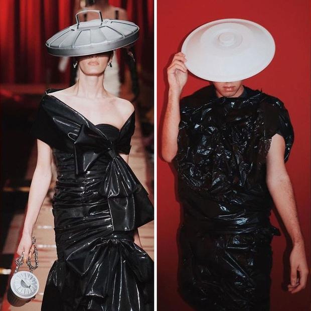 Ở nhà chán quá, cư dân mạng lên ý tưởng tái chế trang phục nhà mẫu cao cấp bằng đồ dùng trong nhà - Ảnh 9.