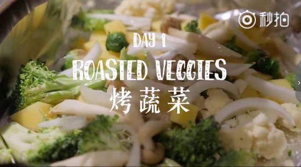 Nàng Vlogger xứ Trung chia sẻ thực đơn ăn tối cho cả tuần, giúp cô giảm gần 18kg khiến ai cũng phải trầm trồ - Ảnh 5.