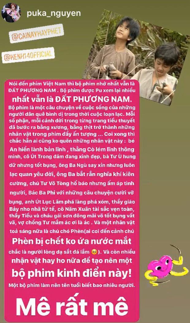 Sao Việt ngược về quá khứ với phim truyền hình: Puka thích mê Đất Phương Nam, Băng Di review tận 2 bộ phim! - Ảnh 7.