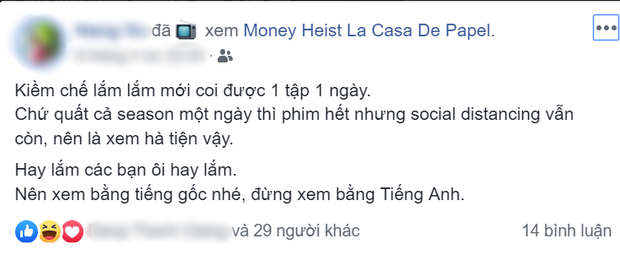 Netizen Việt tranh cãi về phim top 1 trending Netlfix - Money Heist vì chuyện cướp nhà băng lê thê gây ức chế hơn cả Đời Cô Lựu? - Ảnh 3.