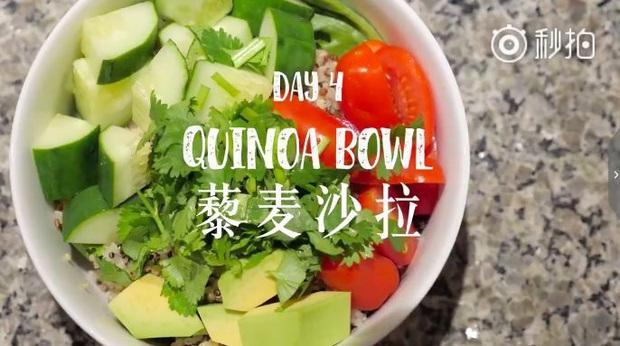 Nàng Vlogger xứ Trung chia sẻ thực đơn ăn tối cho cả tuần, giúp cô giảm gần 18kg khiến ai cũng phải trầm trồ - Ảnh 21.