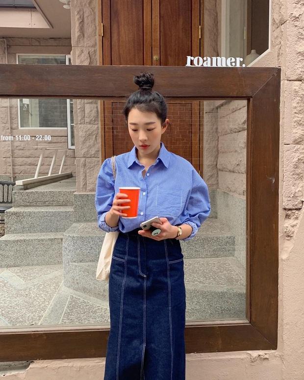Sơ mi dáng cơ bản có tới 6 cách mặc, giúp bạn thành nàng công sở sang chảnh chuẩn style nữ chính phim Hàn - Ảnh 1.