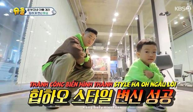 Kang Gary lôi quý tử ra cắt tóc và kết quả... cả 2 dắt nhau đến tiệm khắc phục hậu quả! - Ảnh 8.