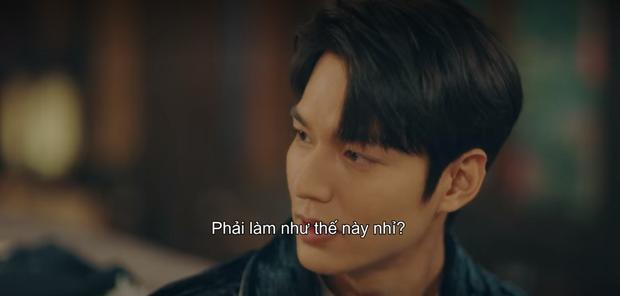 Lee Min Ho mới tập 5 Quân Vương Bất Diệt đã chơi lớn hôn luôn Kim Go Eun, cơ mà sao trông gượng gạo thế nhỉ? - Ảnh 4.