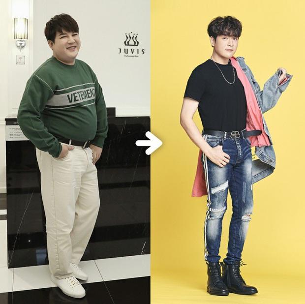 2 nam idol Kpop khoe thành tích giảm 37kg đáng nể: người tự hào có bắp tay lên cơ chuột, kẻ lại tự tin cởi áo show body 8 múi - Ảnh 9.